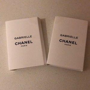2 Chanel Gabrielle (1.5 mL each)